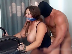 Skylar Rayne Chair Boundand Fucked HD