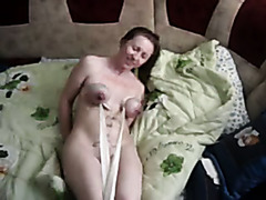 Hot fetish video with my breasty GF
