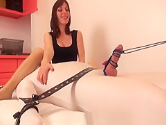 Fabulous Amateur video with Femdom, Fetish scenes