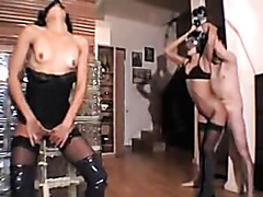 Non-Professional bondage fetish sex party