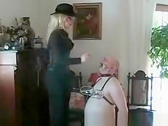 Horny Amateur clip with Blonde, Fetish scenes