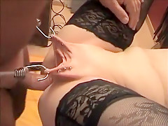 Incredible home BDSM tube scene