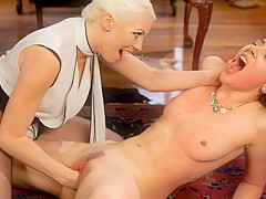 Crazy anal, lesbian sex movie with best pornstars Lorelei Lee and Lilith Luxe from Whippedass