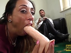 Horny Milf Jenna Joy gets her tight and wet holes destroyed