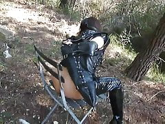 Fetish fuck slave in corsets and ballet boots
