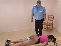 cute girl punished